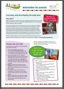 Aistear Learning through Play babies
