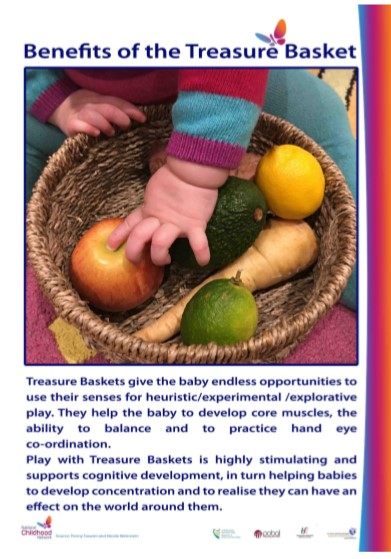 Benefits of Treasure Basket