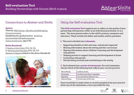 Self Eval Part with Parents
