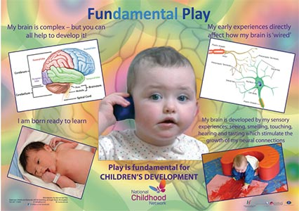 Babies & Toddlers Fundamental Play Posters