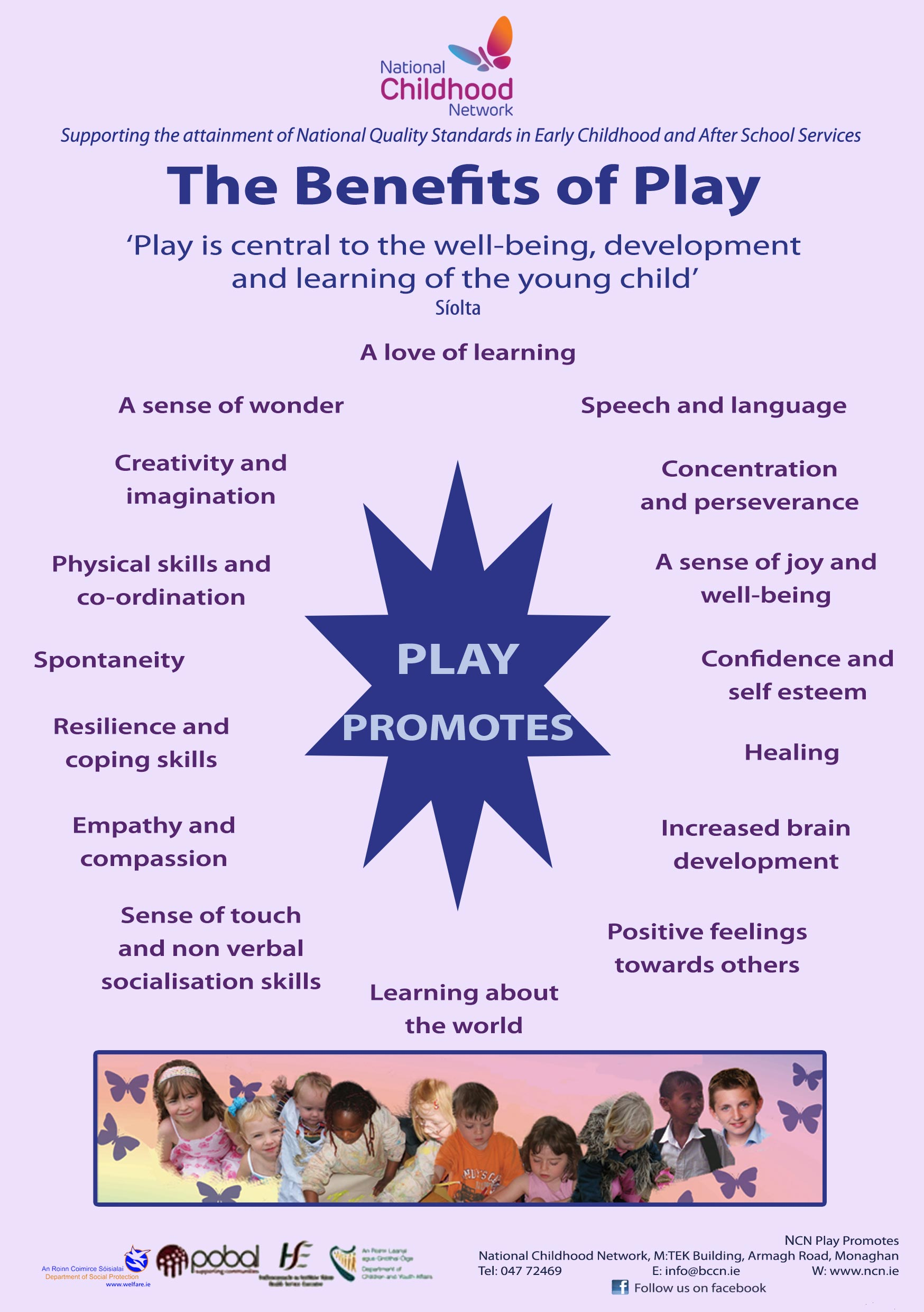 The Benefits of Play Poster
