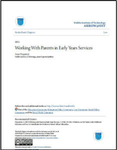 WorkingWithParentsinEarlyYearsServices